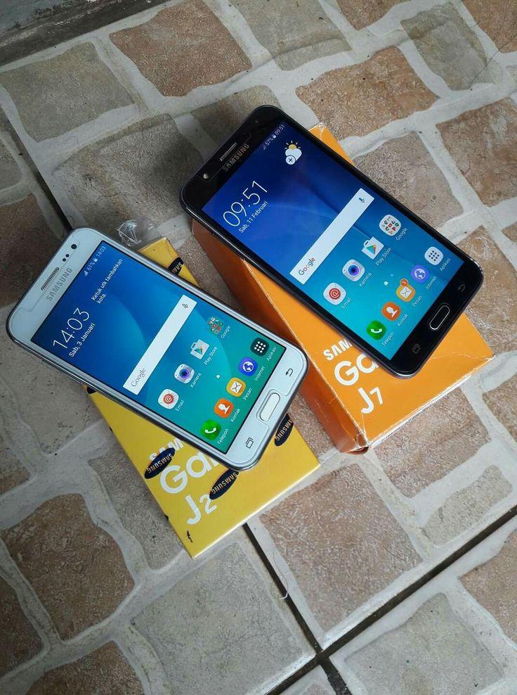 Samsung j2 + j7