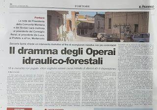 Il blog di Antonio Bianco: Il dramma degli operai forestali, 18 le mensilità ...