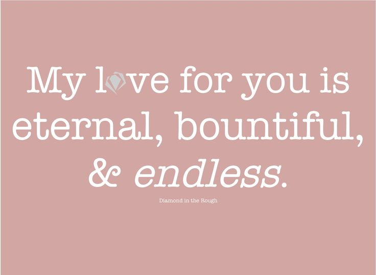 endless love | quotes & sayings | Pinterest