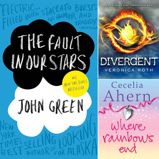 Young Adult books to read before they're movies.  I know many young adults and adults that will read a book just because they know a movie is coming!