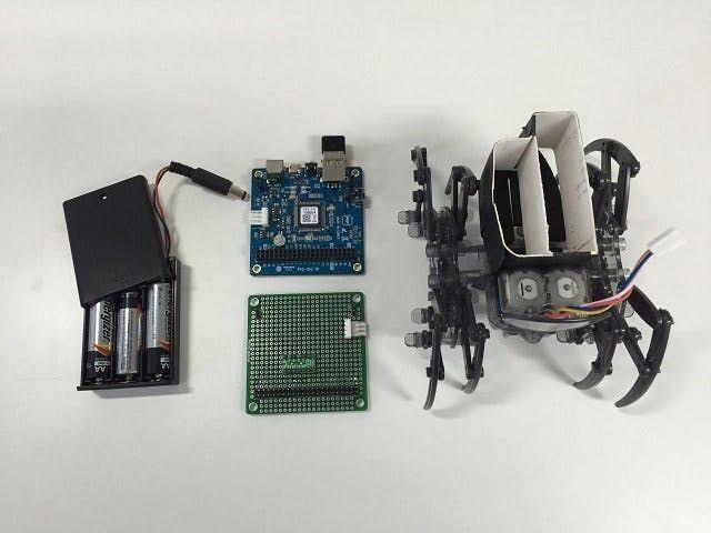RC Spider Robot