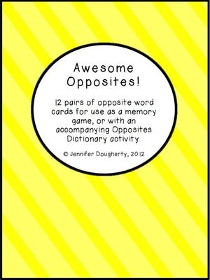 10+ ideas about Opposite Word Dictionary on Pinterest | Opposite ...