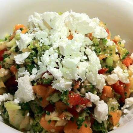 Recipe Brocolli and feta salad by Mel.Preston - Recipe of category Side dishes