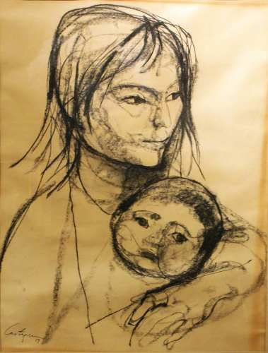 Obra De Juan Carlos Castagnino - La Maternidad