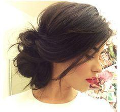 Marvelous 1000 Ideas About Bun Hairstyles On Pinterest Haircuts Short Hairstyles Gunalazisus