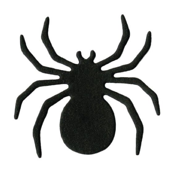 lifestyle crafts halloween die cutting template spider - Halloween Spiders