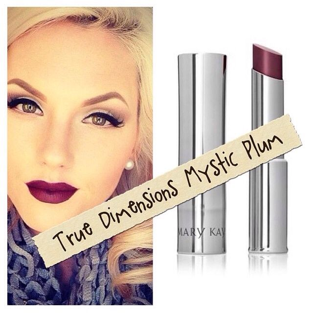 Try A Fun And Bold Lip Color For The Fall... Mystic Plum by Mary Kay... Fun, Flirty and Sexy!!!  Shop My Site: www.marykay.com/dmorgan9035