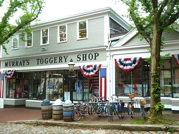 Nantucket - Murray's Toggery Shop - Nantucket, Island, Mass