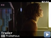 Prometheus - A team of explorers discover a clue to the origins of mankind on Earth leading them to the darkest corners of the universe.