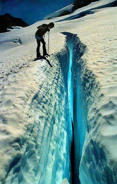Blue Glacier . Norway