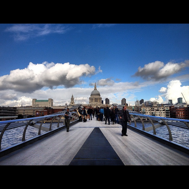 And in the distance was a beautiful building called St Paul's by Amy Feldtmann, via Flickr
