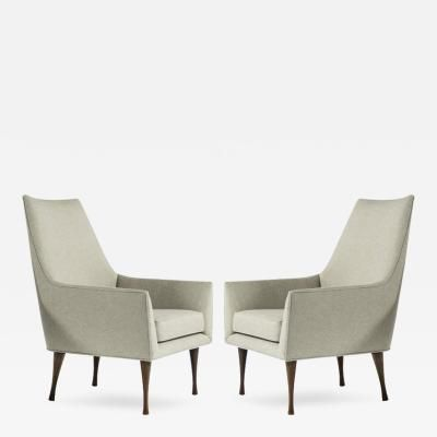 Paul McCobb Symmetric Group Lounge Chairs by Paul McCobb for Widdicomb