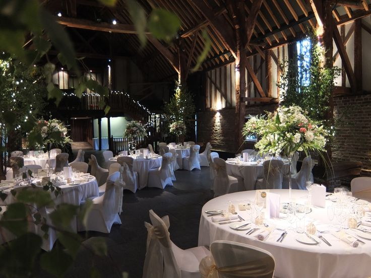 The Tithe Barn - Wedding venue in Kent.