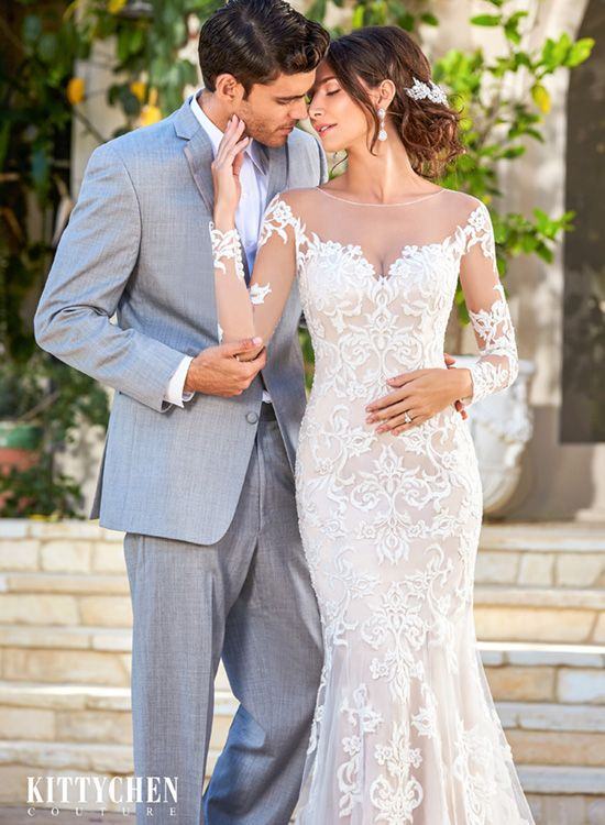 Kitty Chen is one of my favorite designers! Long Sleeve Wedding Gowns: Why You Love Them by MEG Wedding Jewelry