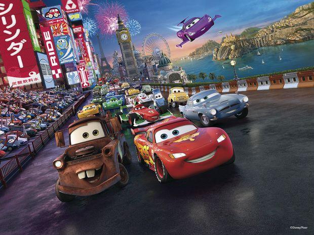 Disney Cars Wall Murals & Wallpapers - Photowall.co.uk