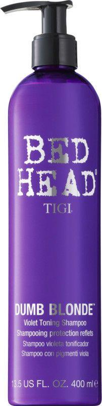TIGI Dumb Blonde Toning Shampoo 13.5 oz / 400 ml to prevent brassy tones  #TIGI
