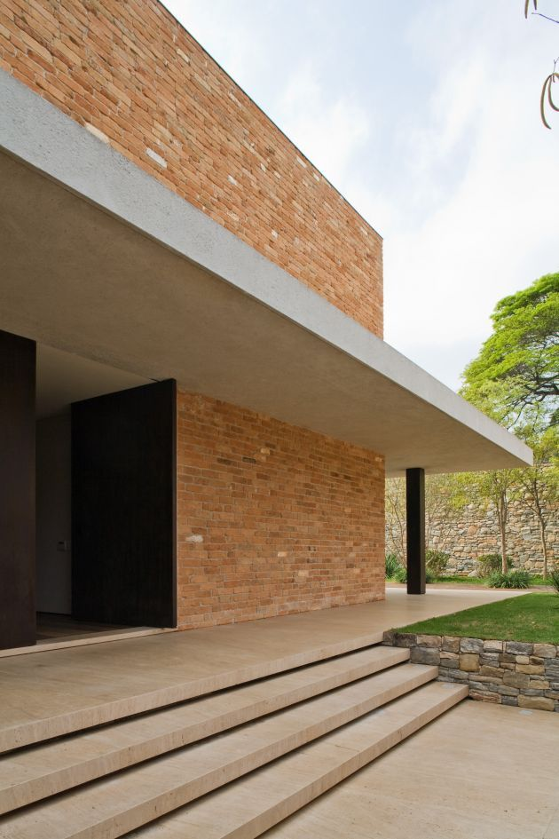 Casa de Tijolinho - MK27: Architecture Construction, House Ideas, Design Ideas, Beautiful Buildings, Marcio Kogan, Bricks, Aconh House, Brick Houses, Contemporary Design