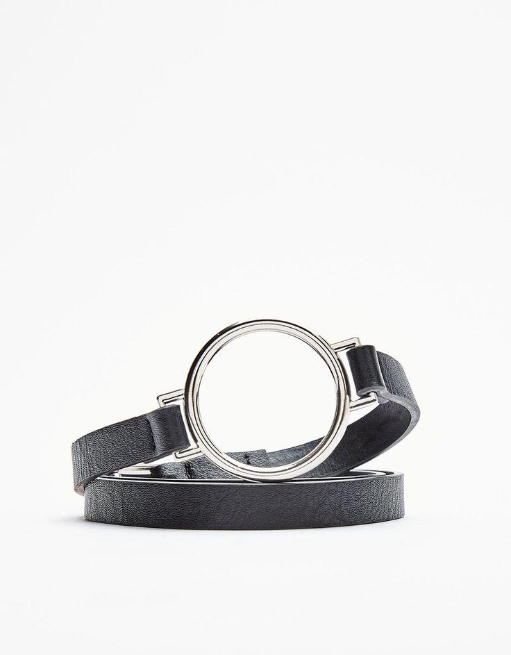 Cintura sottile rondella - Cinture - Bershka Italy