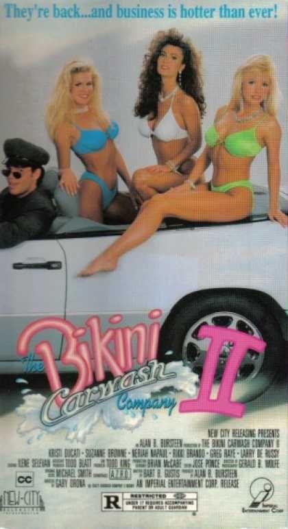 VHS Videos - Bikini Car Wash Company 2