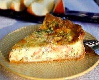 La torta al Salmone