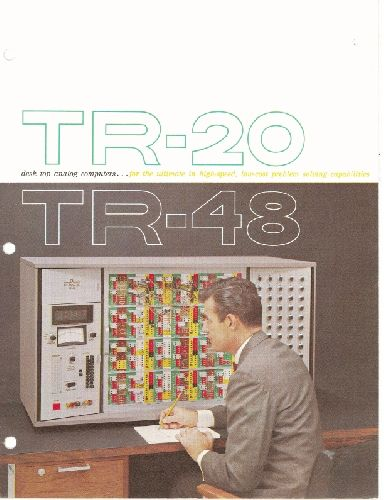 EAI TR-24/TR-48 Desk Top Analog Computer Systems Brochure, 1964