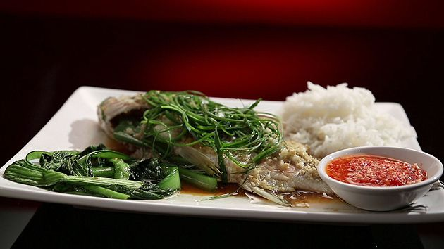 MKR4 Recipe - Steamed Fish with Ginger and Shallots (Ashlee & Sophia)