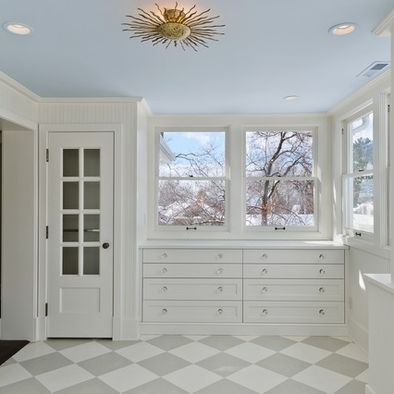 Blue And White Checkerboard Design, Pictures, Remodel, Decor and Ideas
