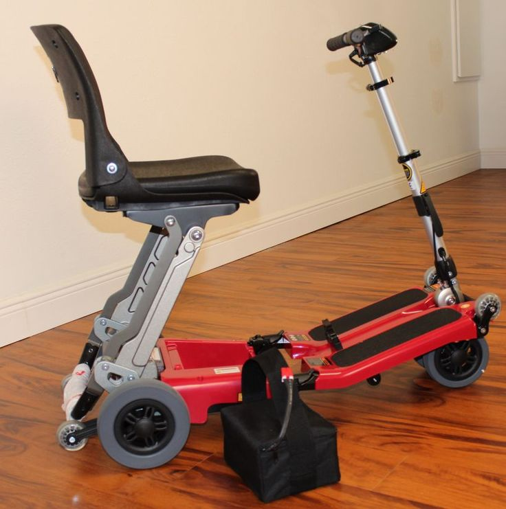 Name: Luggie Classic Folding Scooter Price: $1599.00 Free Shipping!
