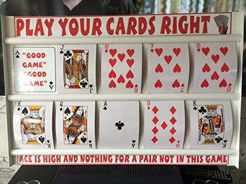 From 35.99 Large Play Those Cards Right Family / Pub/ Higher Lower Fun Game With Large Playing Cards