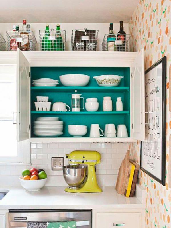 11 trucos de almacenaje para una mini cocina