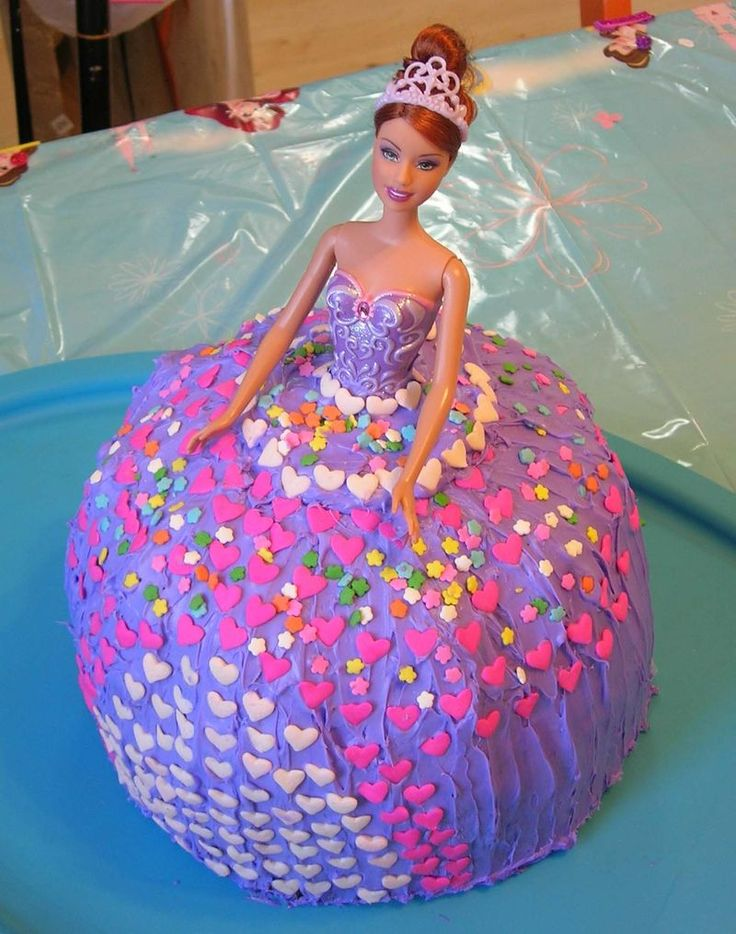 How To Make A Barbie Cake With A Bundt Pan