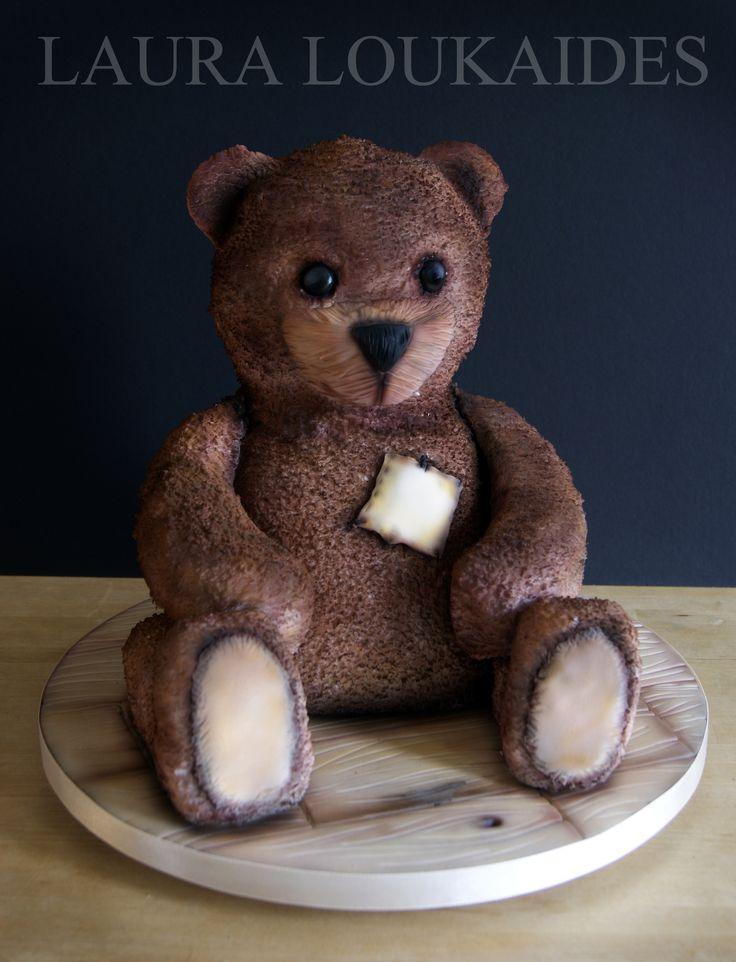 """Edward the Beloved Bear"" by Laura Loukaides #lauraloukaides"