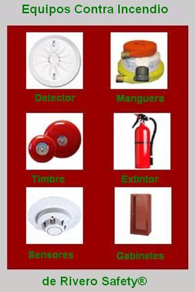 Venta recarga y mantenimiento de extintores Productos contra incendios. Sistemas contra incendios Señalizacion industrial Planes de emeregencia