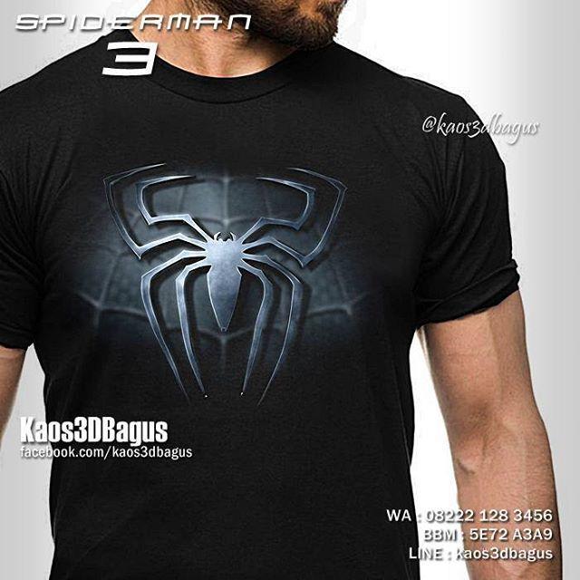 Kaos SPIDERMAN LOGO 3D, Kaos 3D Spiderman 3, Kaos The Amazing Spiderman, Kaos SUPERHERO 3D, Kaos3D, Kaos 3D Umakuka, Kaos 3D Bagus, INFO / ORDER : WA : 08222 128 3456 BBM : 5E72 A3A9 LINE : kaos3dbagus,  http://www.fb.com/kaos3dbagus