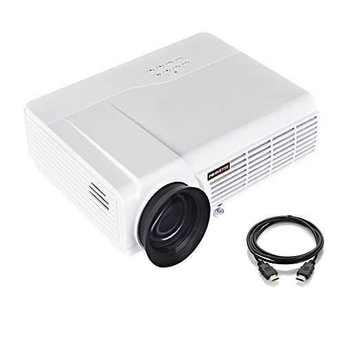 Portable Projector, PRAVETTE Home Theater Mini Projector Support 4K HD Video/1080P Movie, Home Audio/LCD,LED TV/Blu-ray Player/Digital Video Recorder,Phone/PC/Camera,Outdoor/Office #Portable #Projector, #PRAVETTE #Home #Theater #Mini #Projector #Support #Video/P #Movie, #Audio/LCD,LED #TV/Blu #Player/Digital #Video #Recorder,Phone/PC/Camera,Outdoor/Office