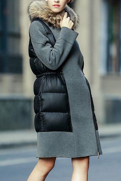 Пуховик + пальто (трафик) / Курточные переделки / ВТОРАЯ УЛИЦА