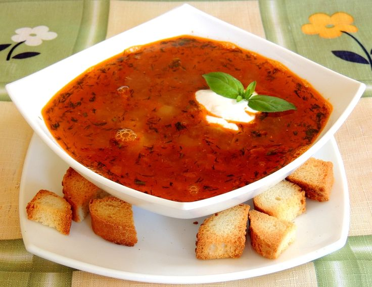 Приготовить суп в аэрогриле