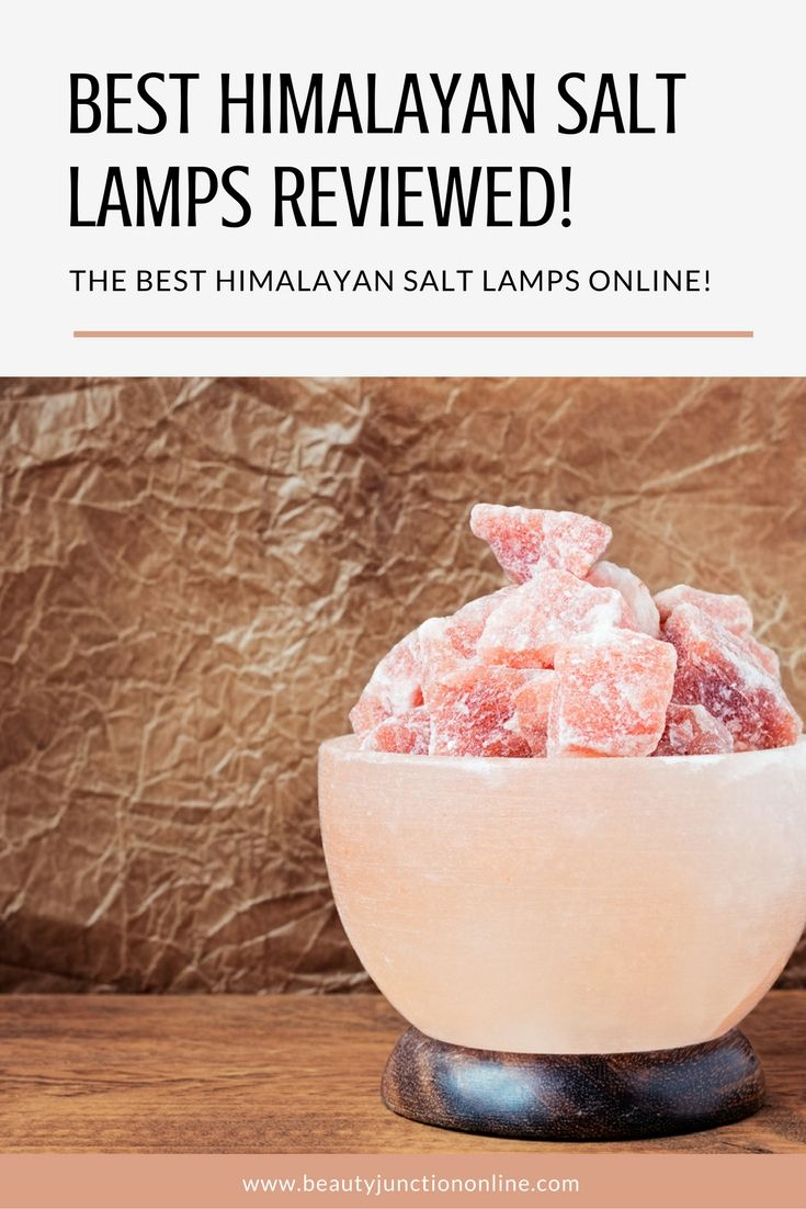 Discover the best Himalayan salt lamps available online!