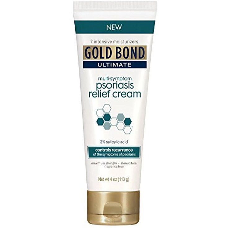 Gold Bond Ultimate Psoriasis Cream Relief Skin Itching, Irritation, 4 Ounce #GoldBond