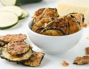 Zucchini-Chips aus der Heißluftfritteuse