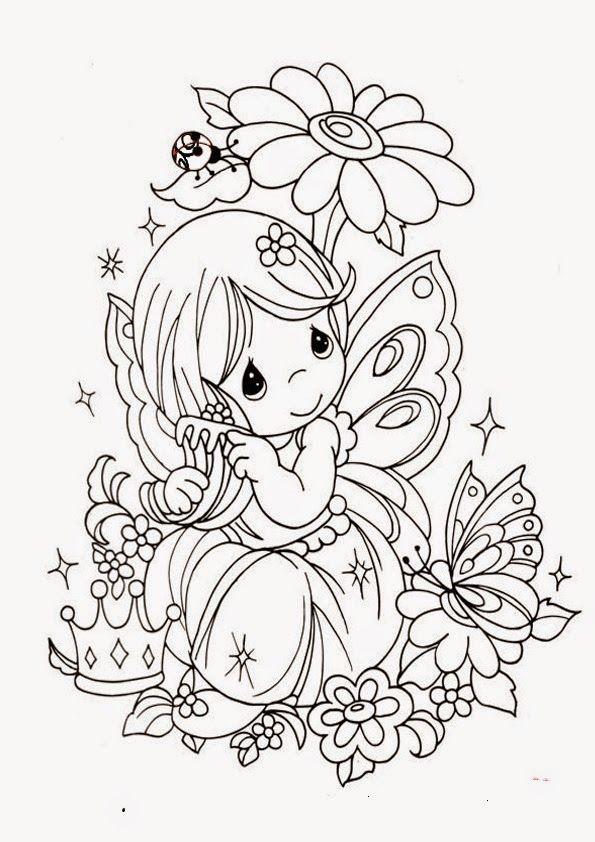 Pin De Maria Garcia En Hadas Y Duendes Libro De Colores Dibujos Dibujos De Hadas