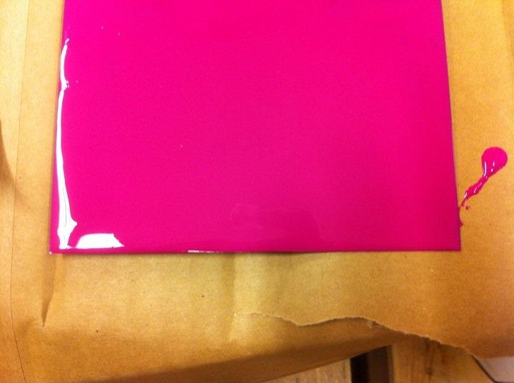 Maleriet fargehandel: Roooooosa kjøkkenfarge i huuuuus!