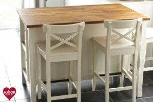 Stenstorp IKEA kitchen island review with Ingolf bar stools