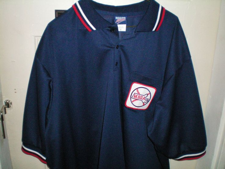 Navy Dalco Umpire Shirt, with MBUA Patch