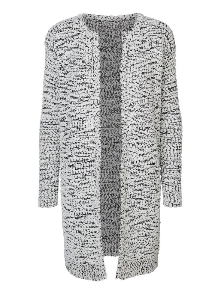 LANGERMET STRIKKET CARDIGAN, Snow White