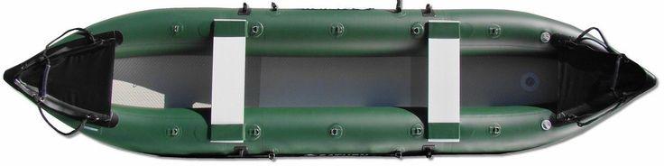 13' Pro-Angler Fishing Inflatable Kayaks FK396. Great Inflatable Rubber Kayak for Fishing and Kayaking.