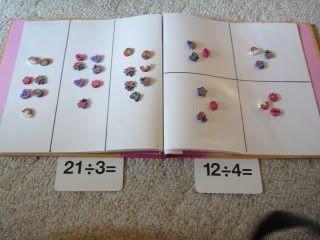 Libreta de divisiones - Aprendiendo matemáticas