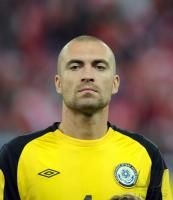Fussball International EM 2012-Qualifikation: Andrey Sidelnikov (Kasachstan)