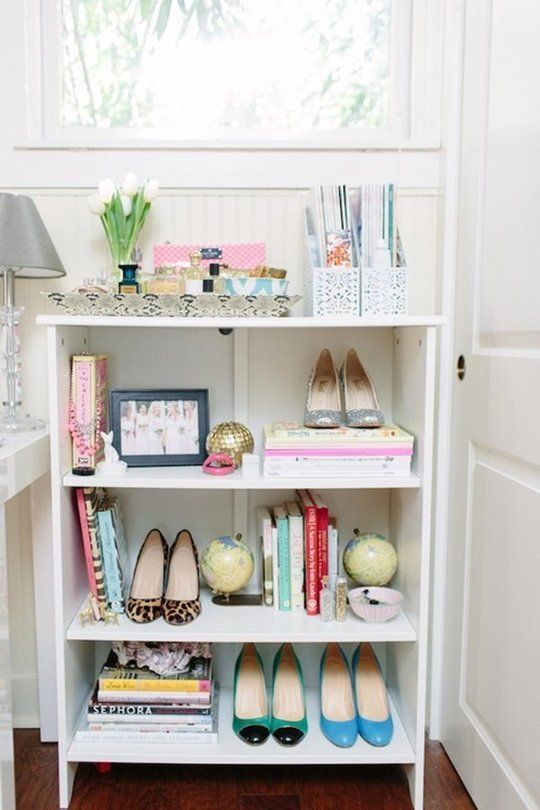 me want to buy new shoes. Shoes as Art: 10 Clever Shoe Storage Ideas ...