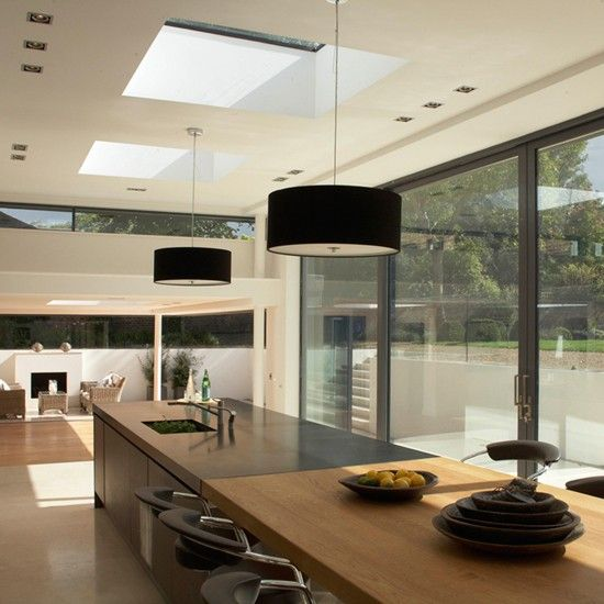 Kitchen Ideas For Open Floor Plans In Trailor: 37 Best Images About Modern Kitchen Extensions On